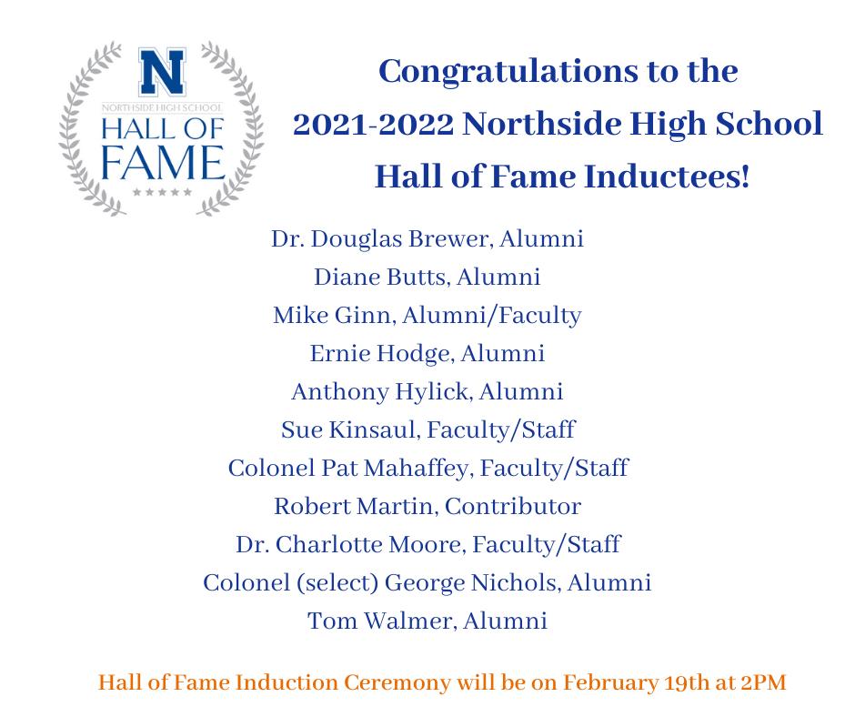 Northside High School Hall of Fame