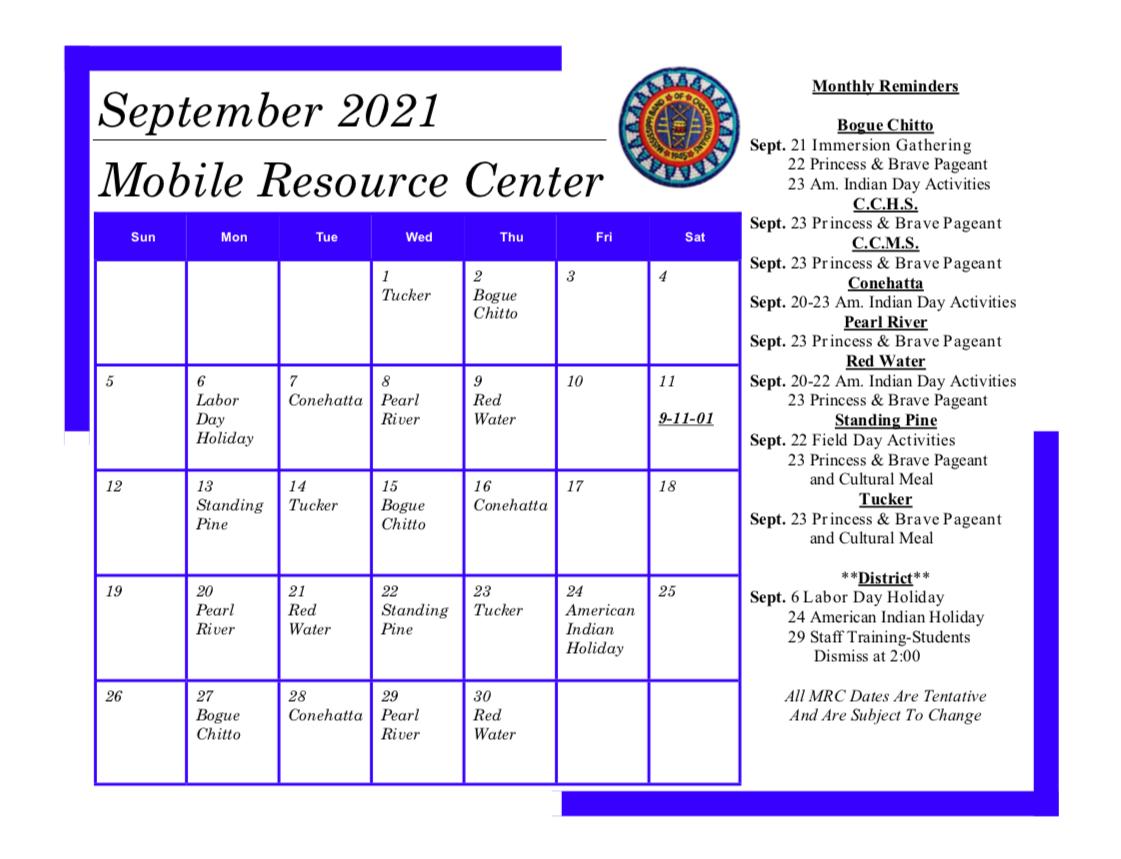 MRC Calendar