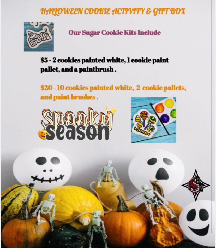Halloween Cookie Kits  Details above.
