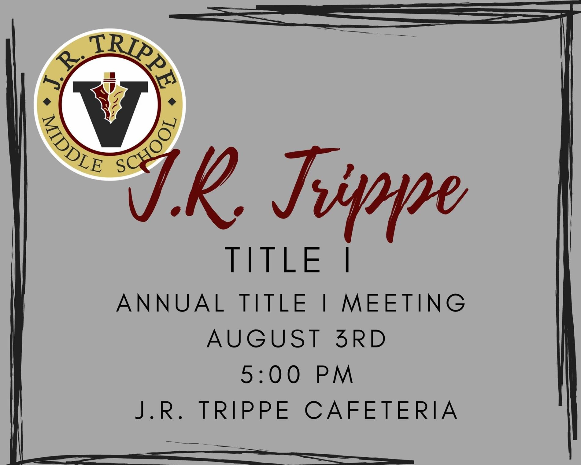 Title I Parent and Community Meeting