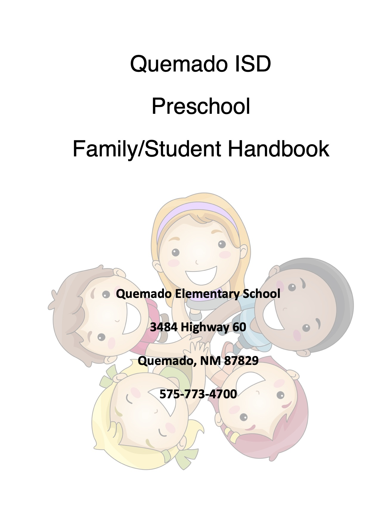preschool handbook