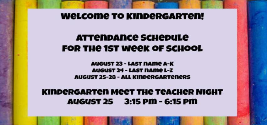 kindergarten meet the teacher