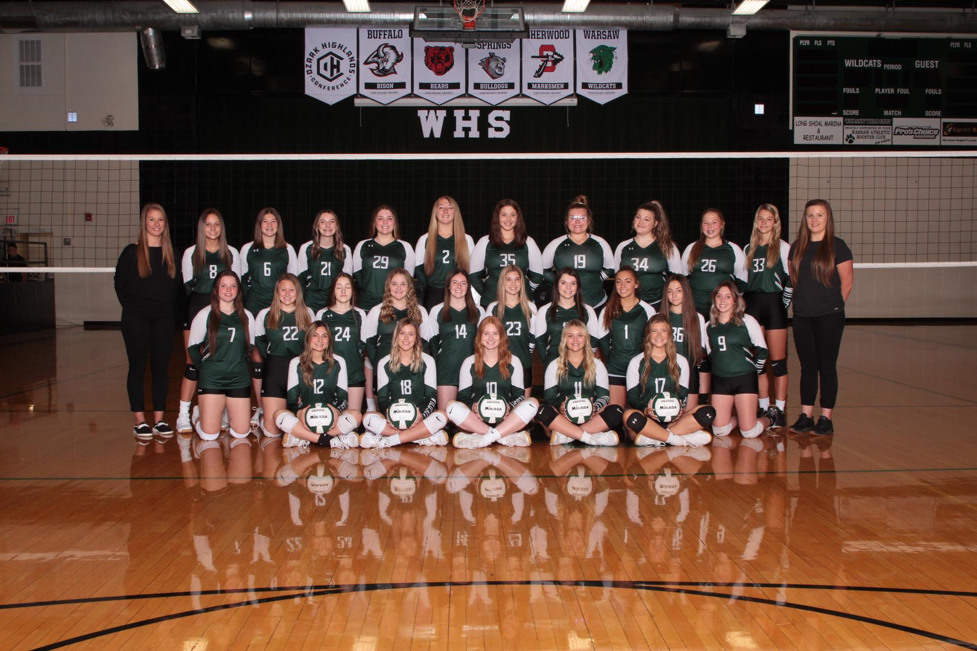 WHS VOLLEYBALL TEAM