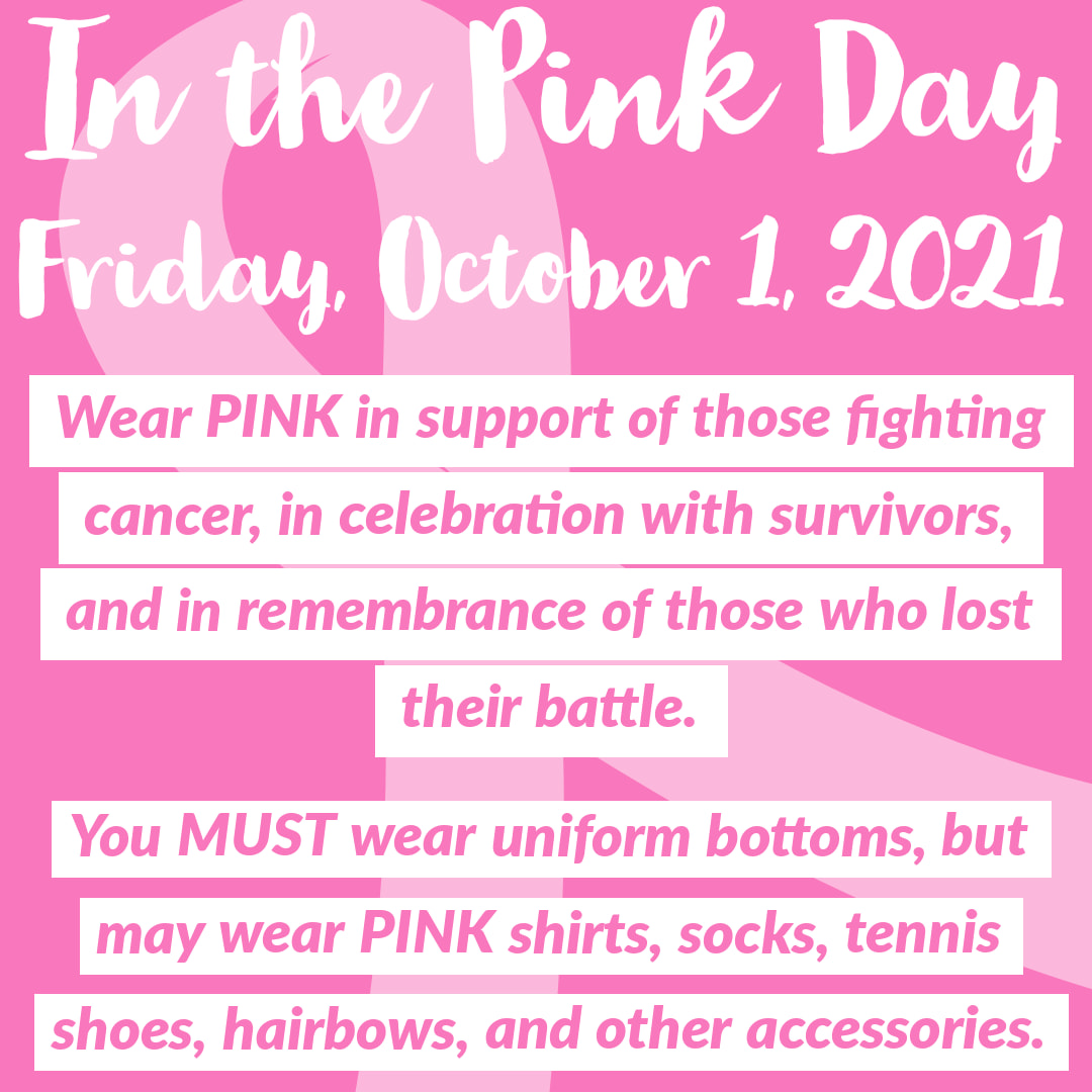 In the Pink Day 2021