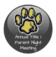 Annual Title I Parent Meeting Link