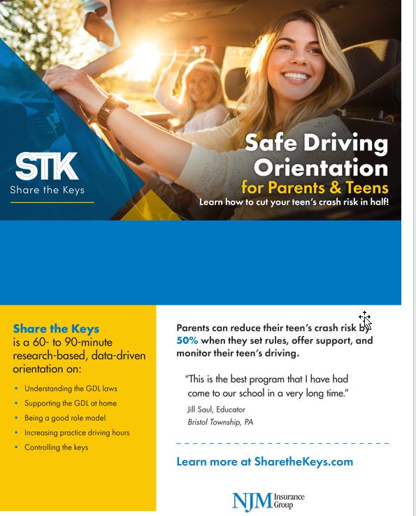 Safe Driving Orientation