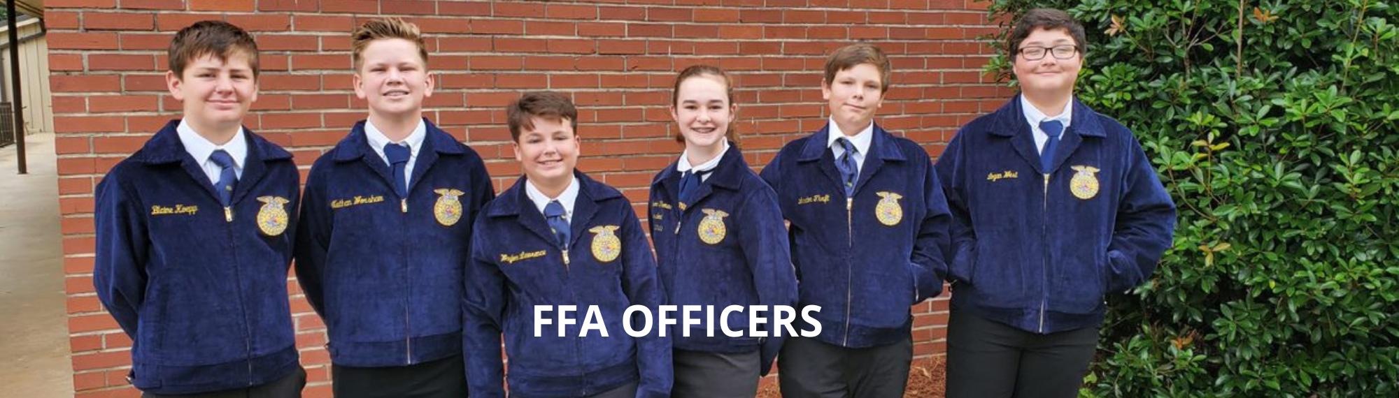 FFA Officers 2021-2022