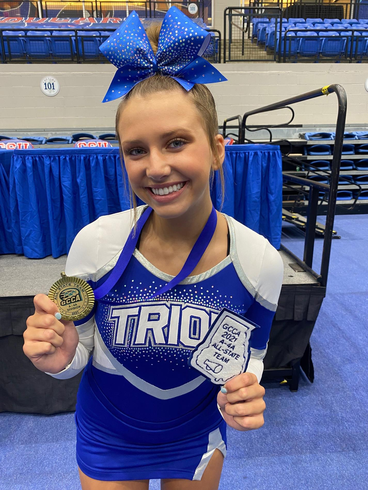 Gracie Canada Cheerleader of the Year
