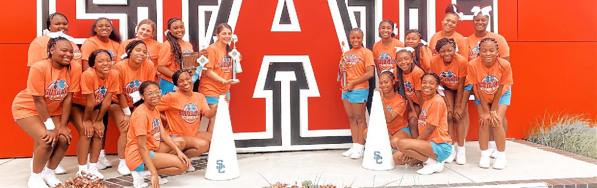 Cheer at Arkansas State Camp