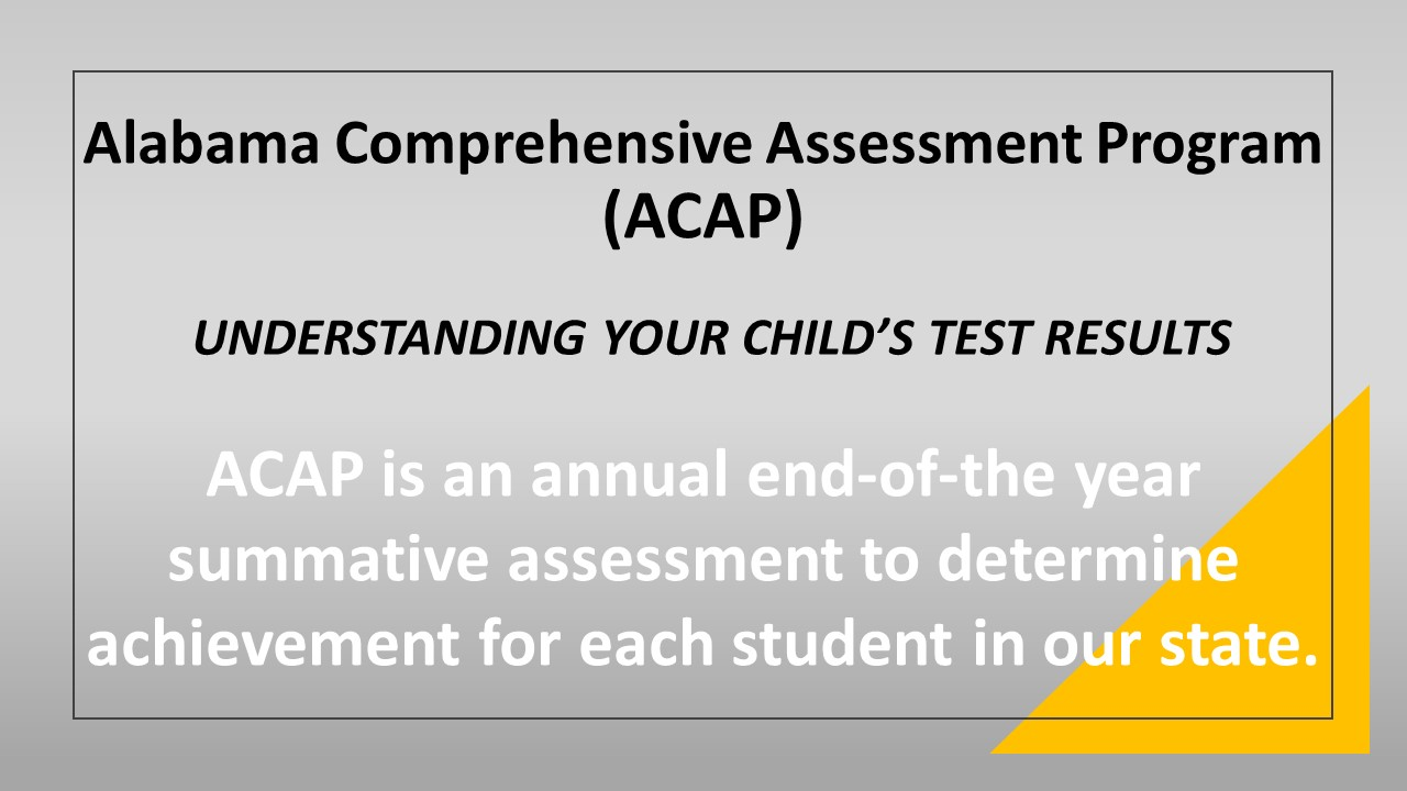 Understanding Your Child's Test Results