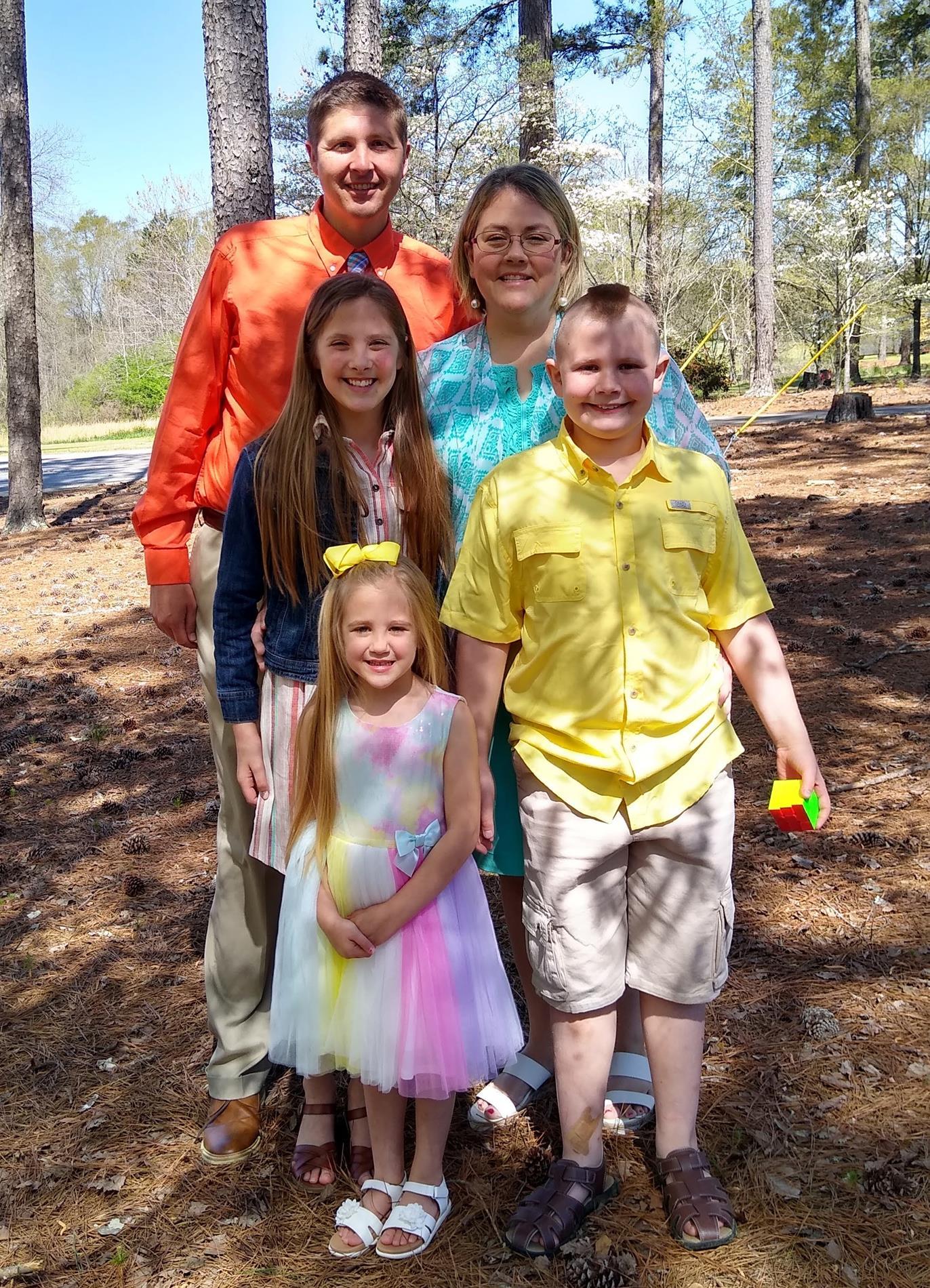 Coach Bramble's Family
