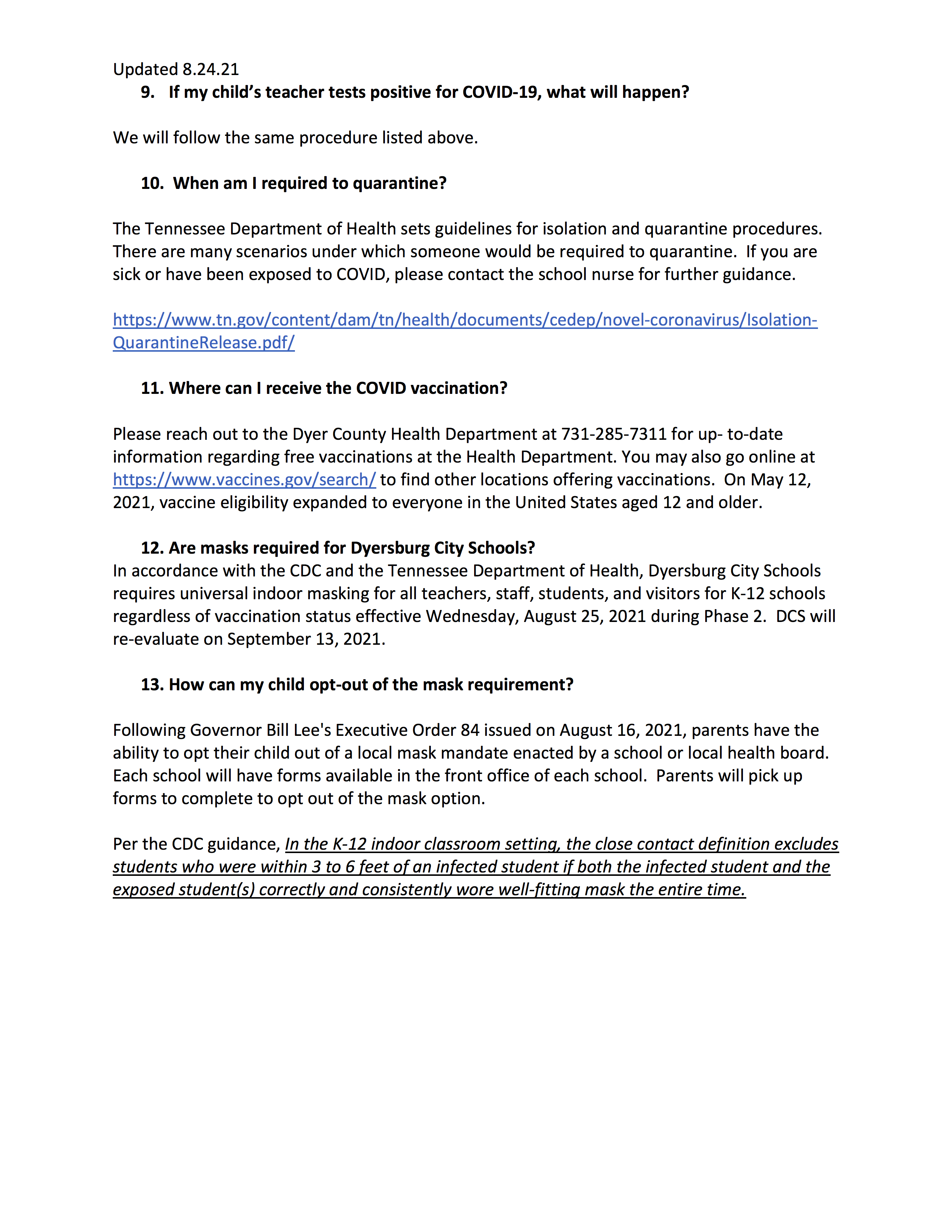 FAQ Page 3