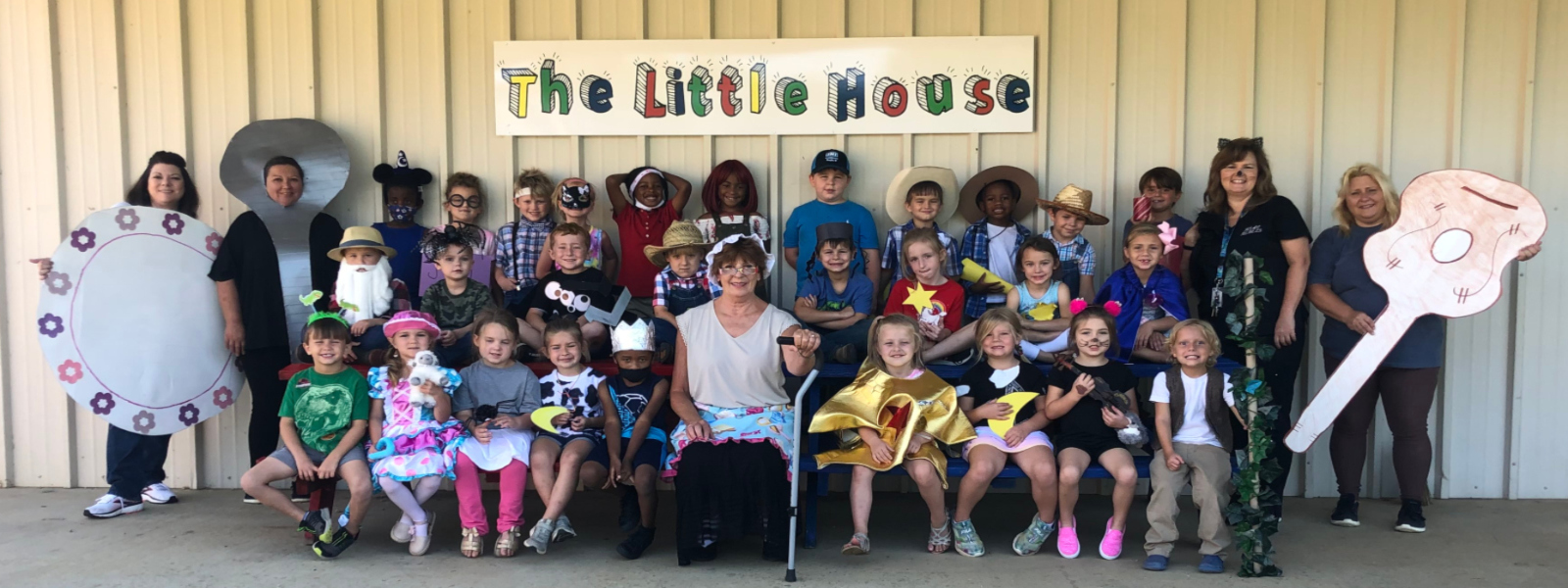 Nursery rhyme day at Hickory Flat