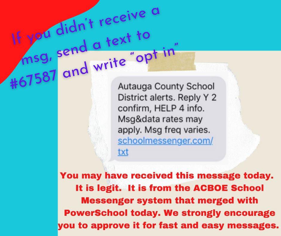 School Messenger signup