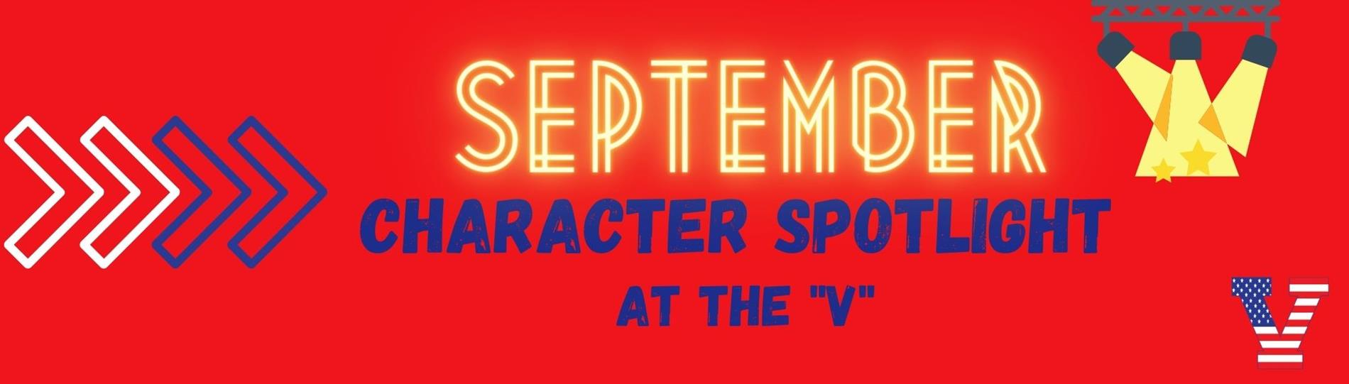 September Character Trait of the Month - Service
