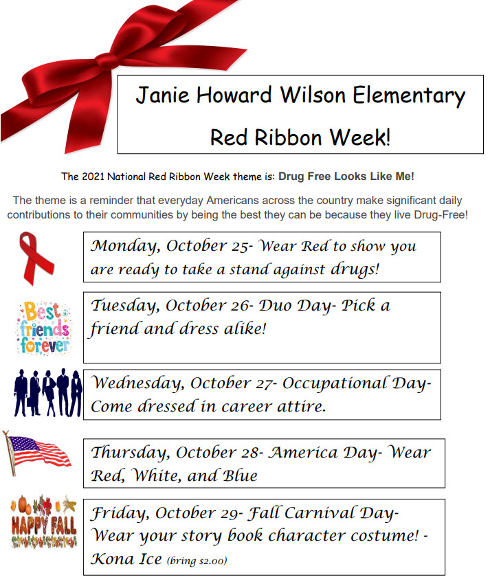Red Ribbon Week events