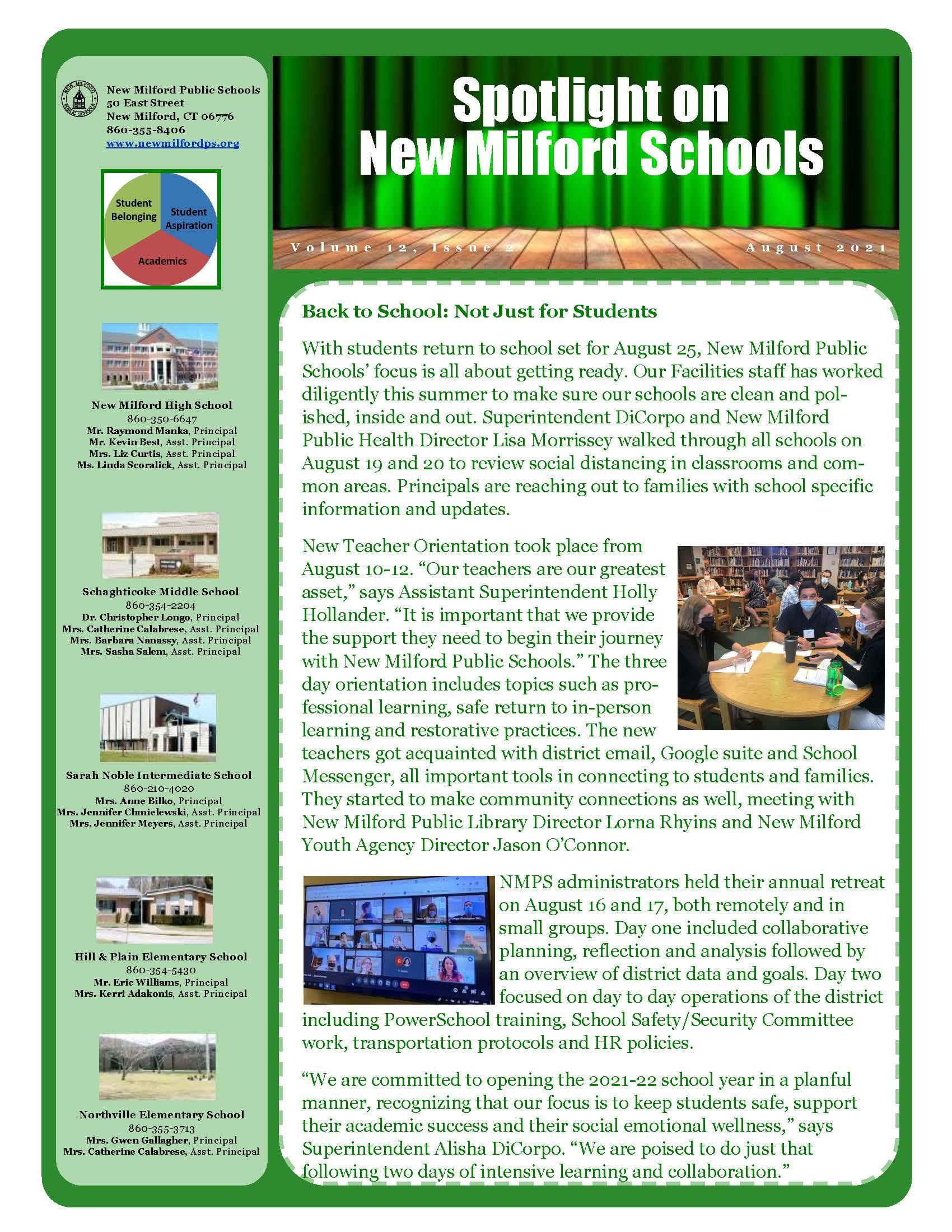 August district newsletter