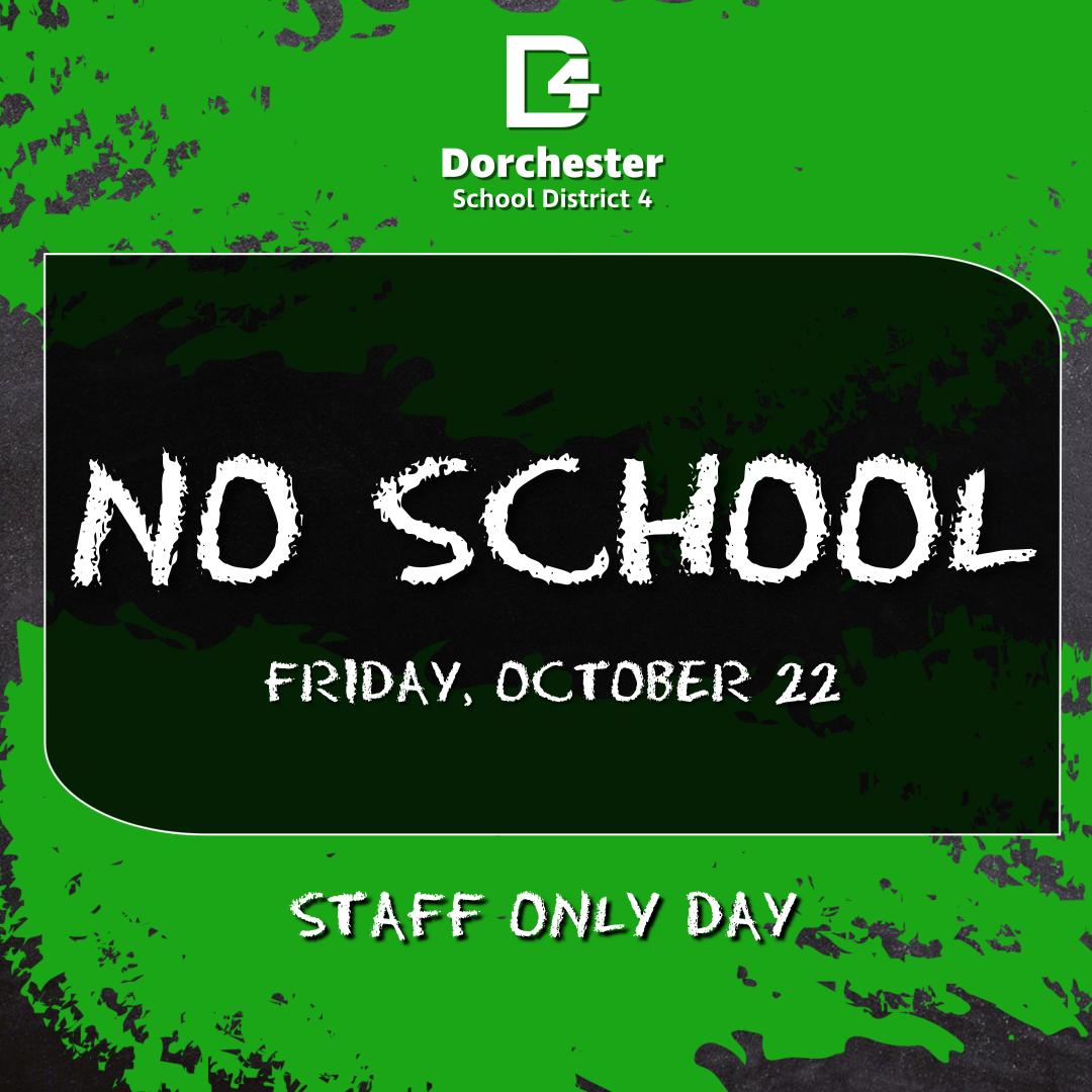 No School October 22