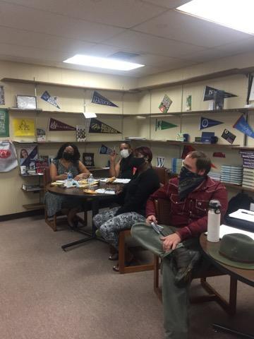 CTC Staff during Teacher Academy