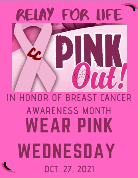 Wear Pink Wednesday