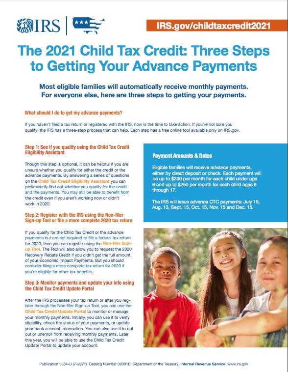 IRS Child Tax Credit - English