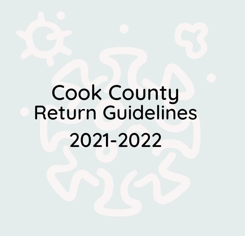 Covid return guidelines