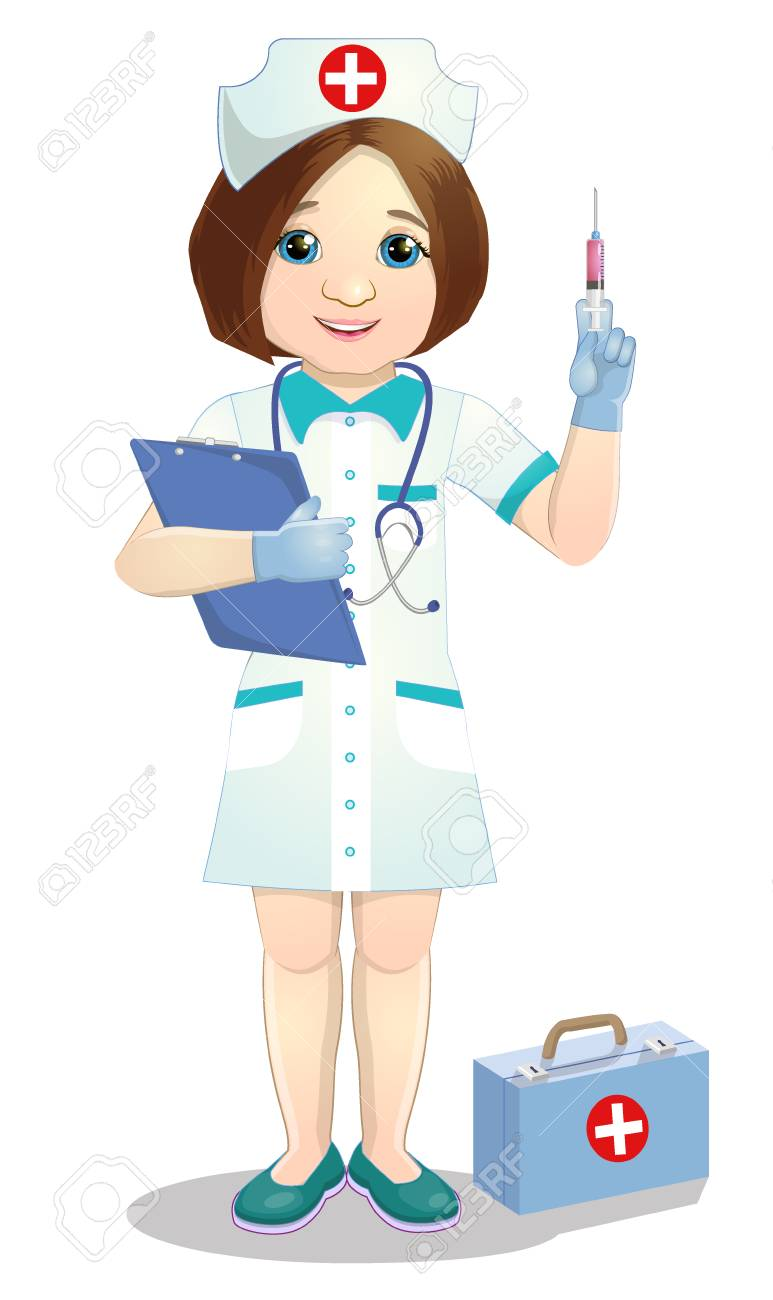 Nurse's Page with Medical Information