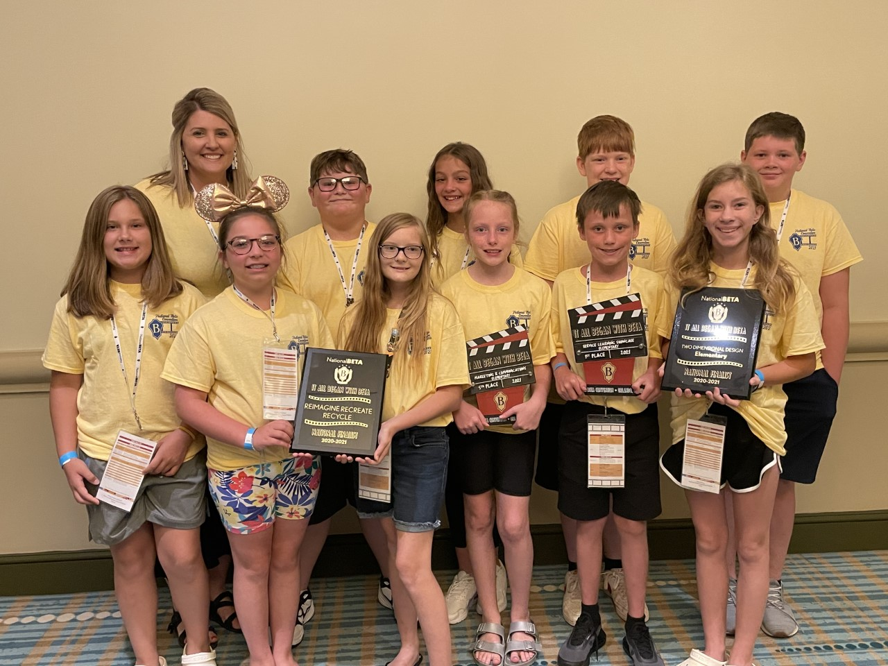 WCES National Beta Winners 2021