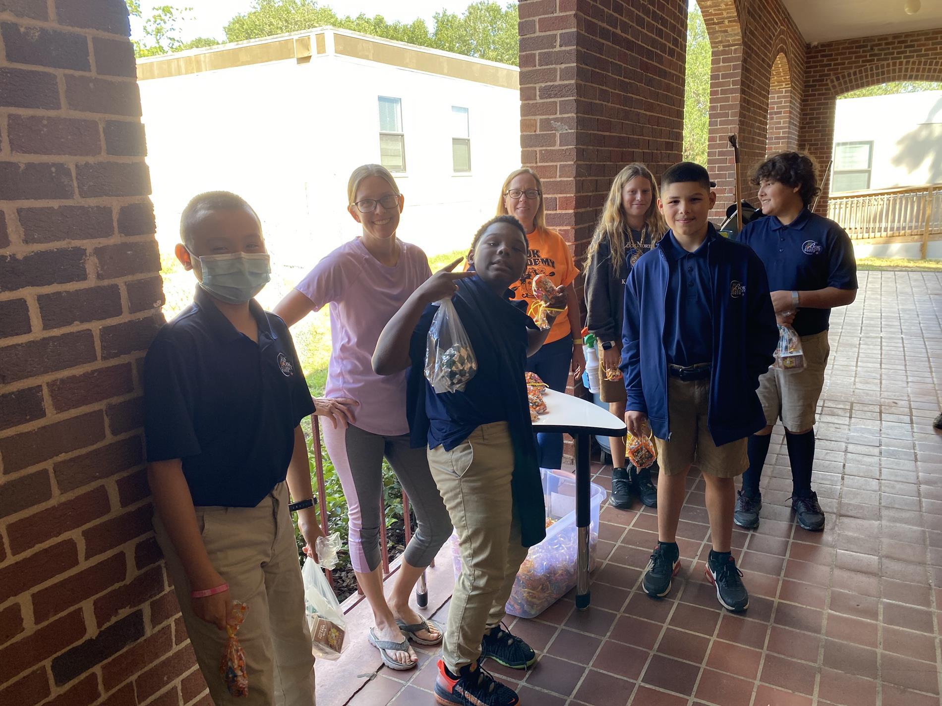 Students Receiving Rewards