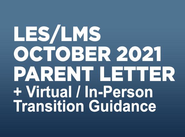 LES/LMS Parent Letter