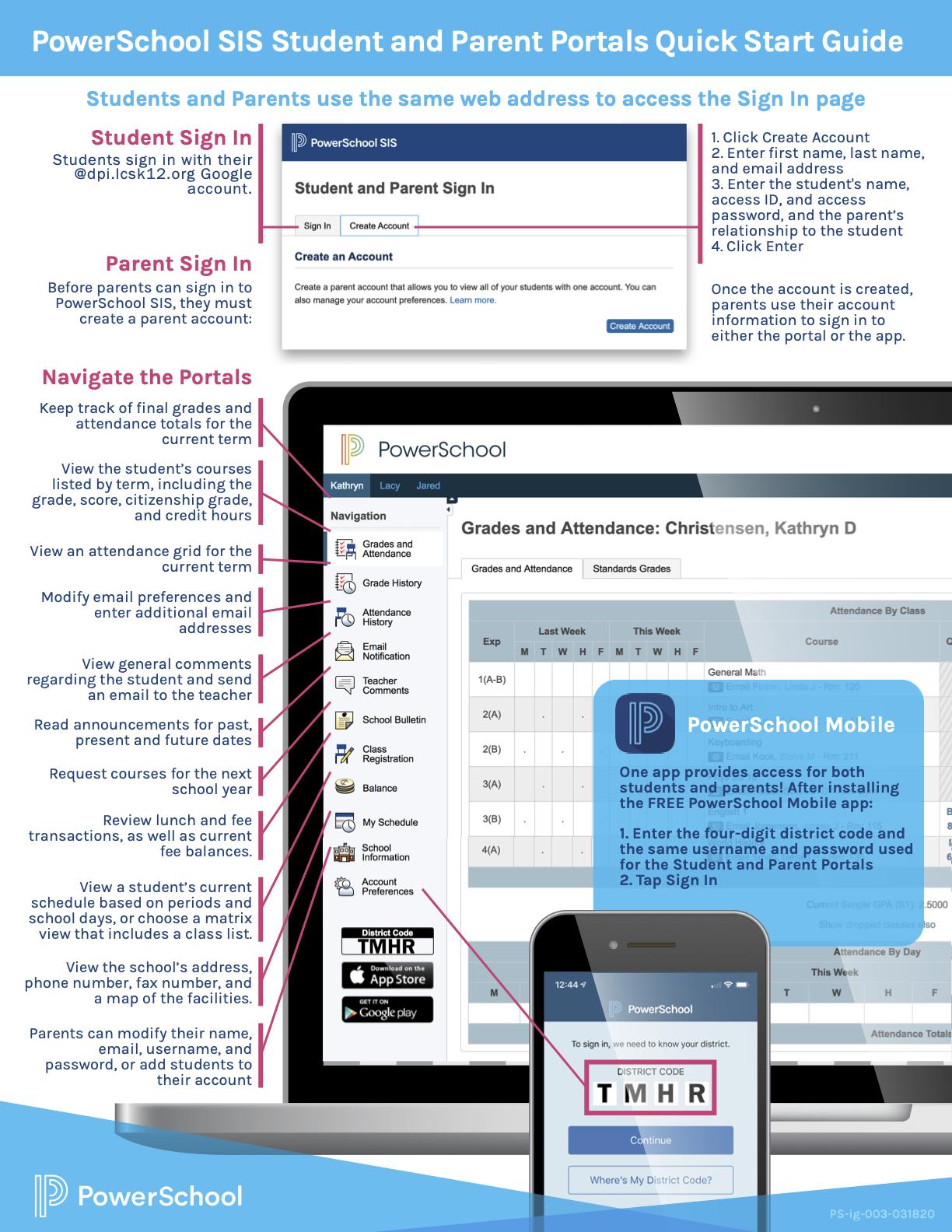 PS Parent Portal Quick Start Guide