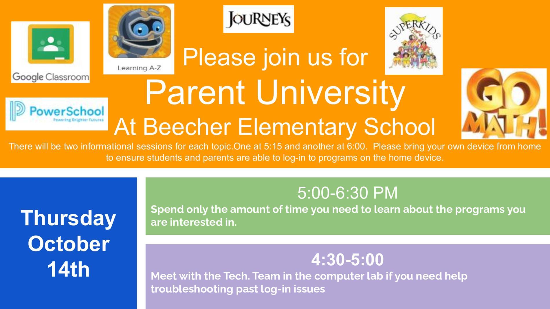 BES Parent University