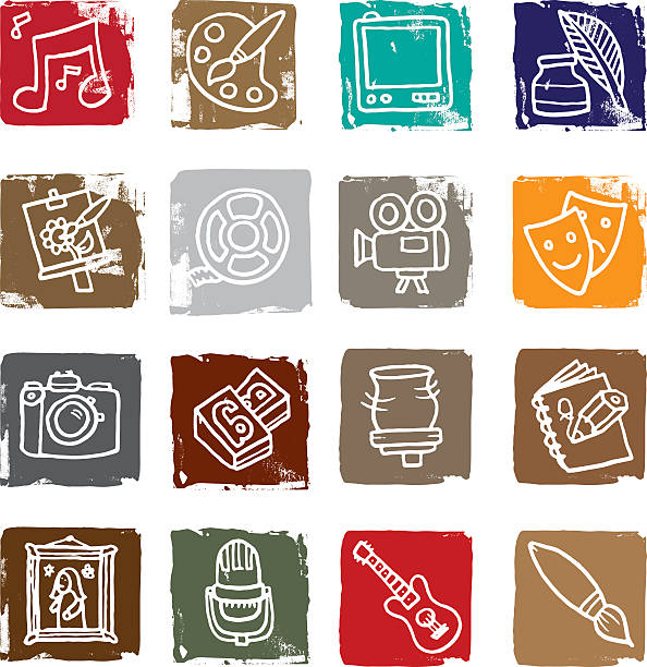 Picture Grid With Various Artistic Images