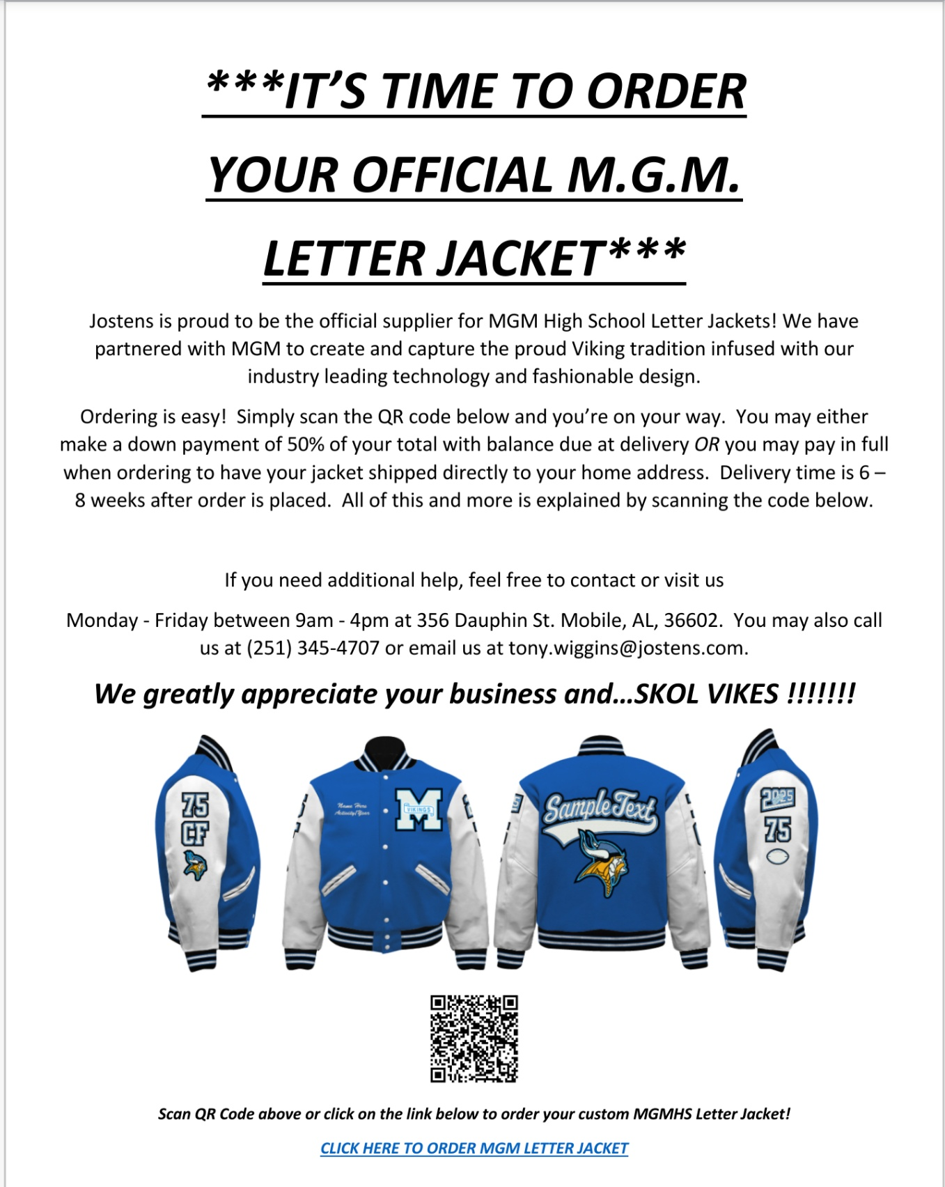 Letterman Jacket Information