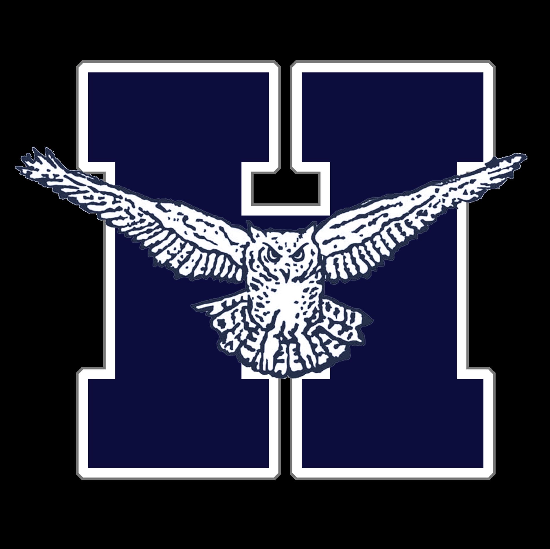 Hondo Owl on Blue H Logo