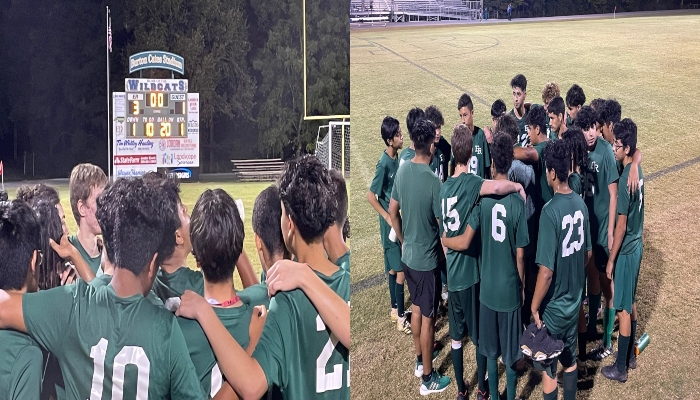 Soccer wins another one!