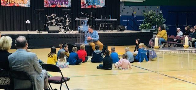 Pastor Adam Children's Message