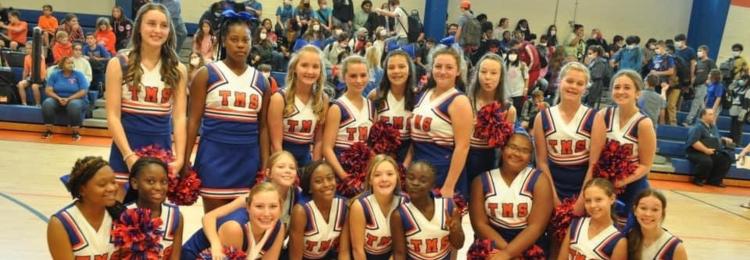 TCMS Cheerleaders