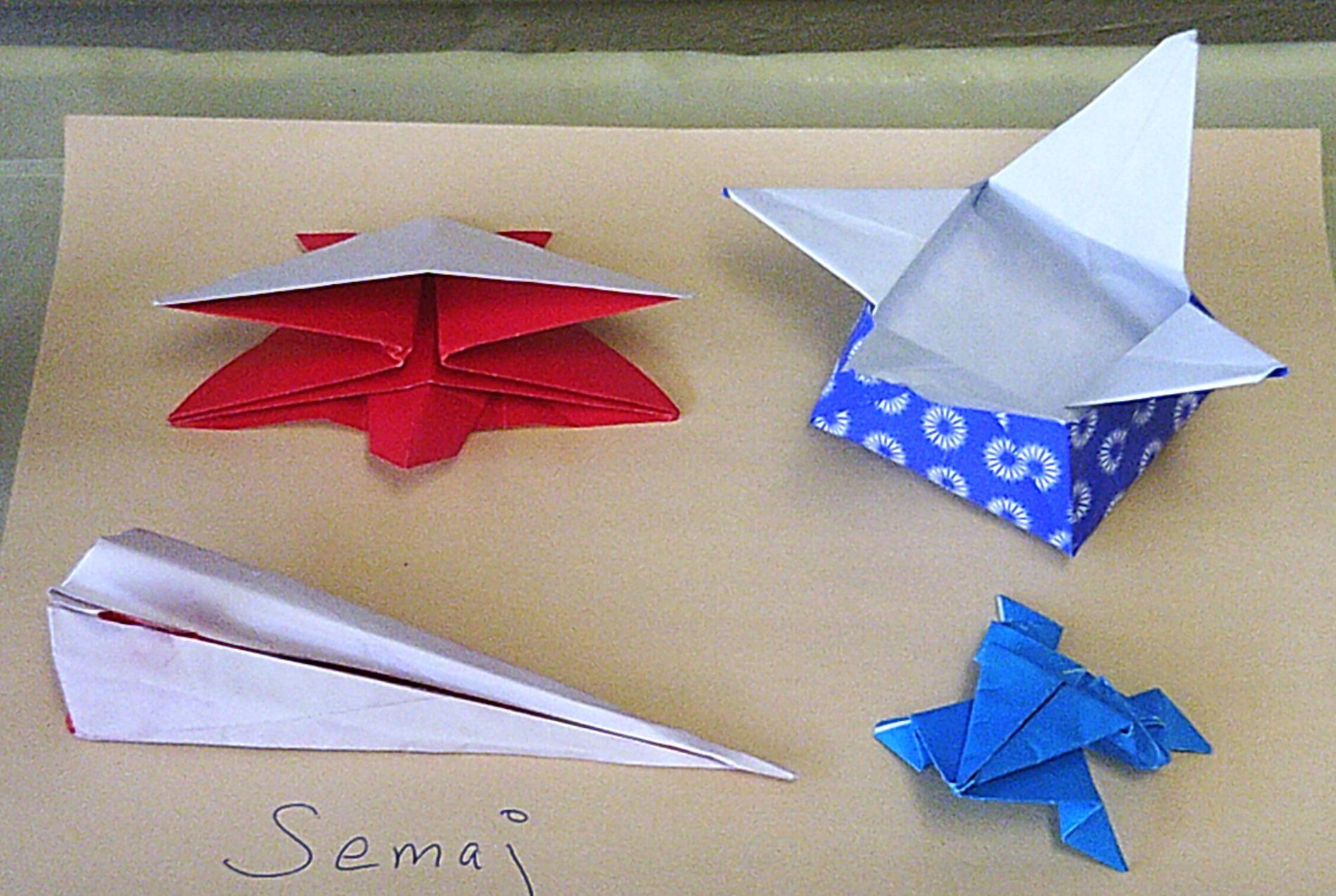 Japan Origami Semaj