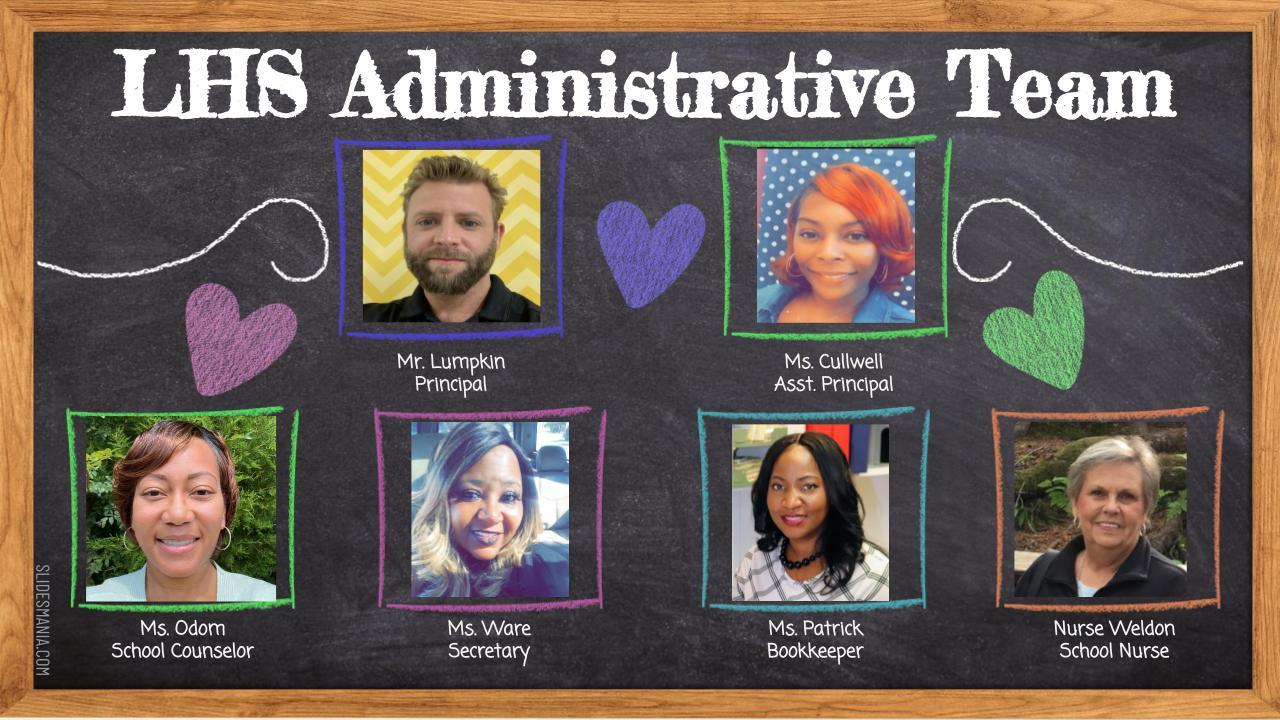 LHS Administrative Team
