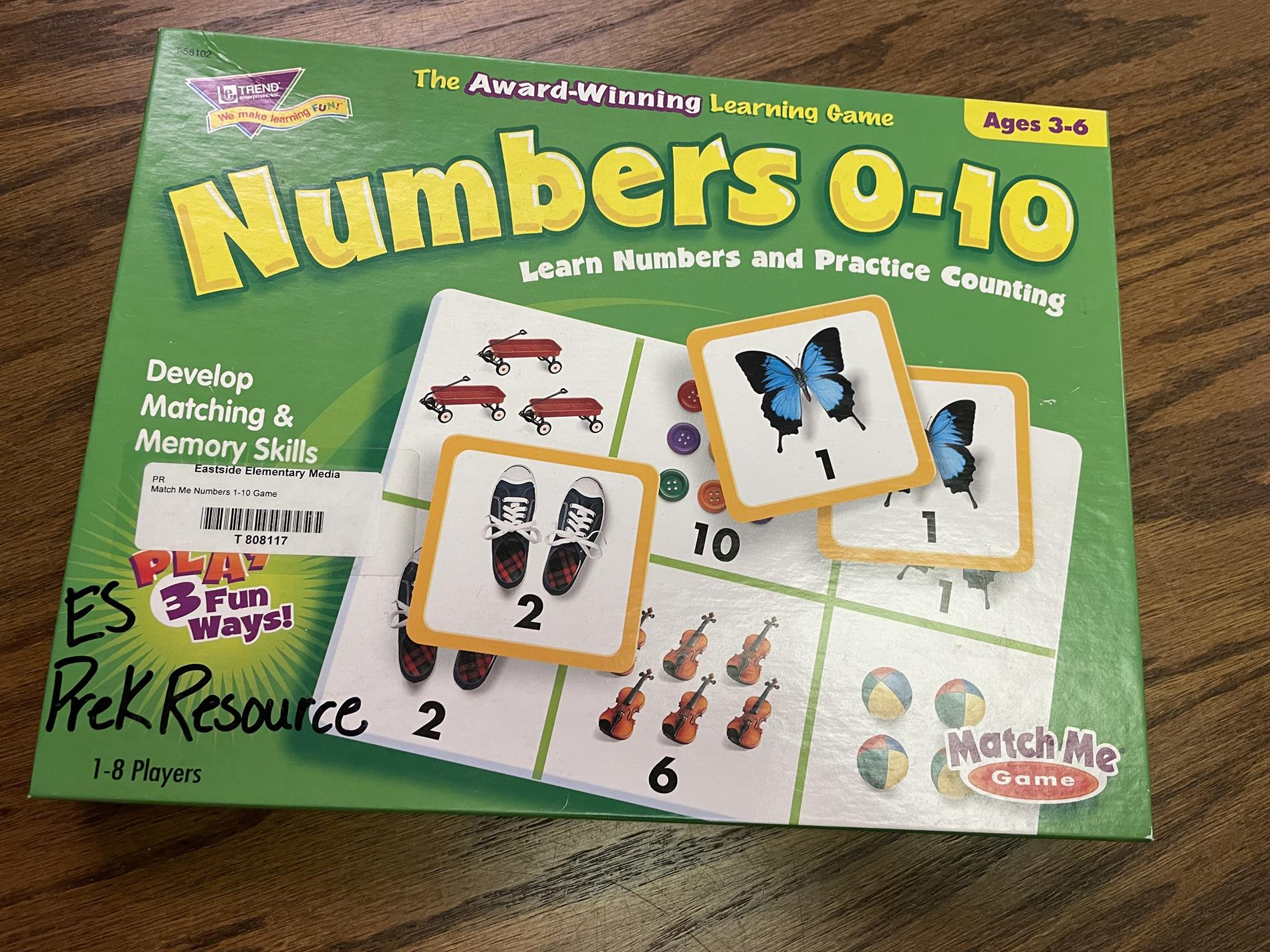 math game count to 10