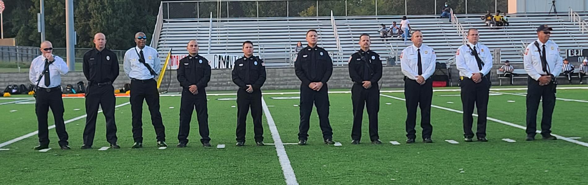 First Responders Recognition at Sept. 10th Game vs Starkville