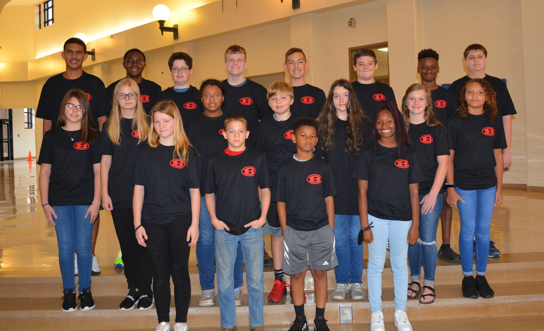 September 2021 Red and Black Awards picture