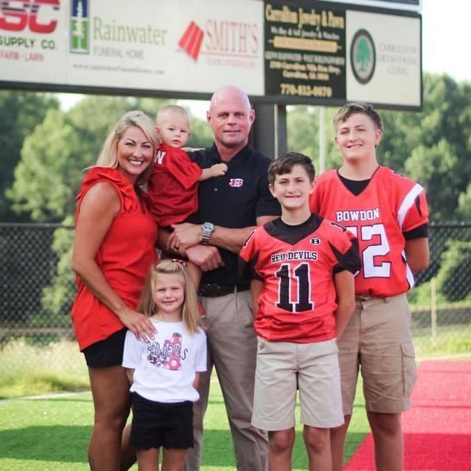 Coach Fendley's Family