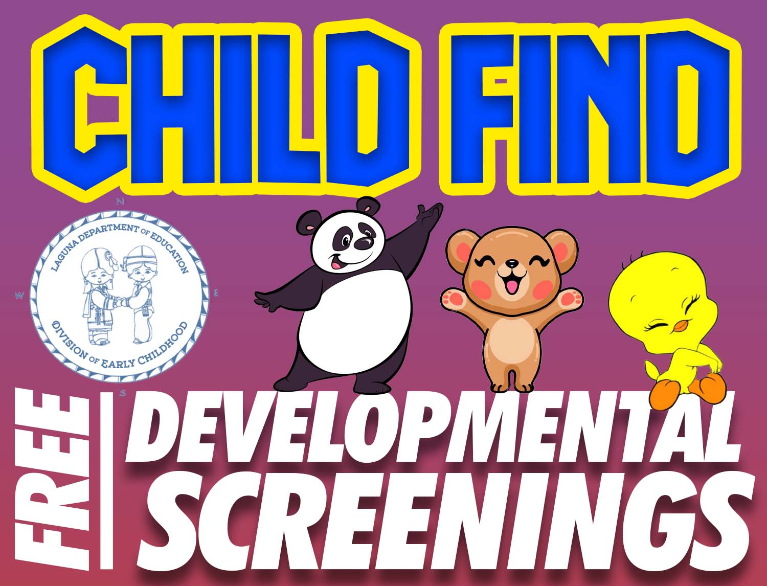 Child Find - Dates and Times