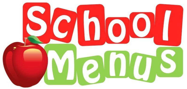 school menus with apple