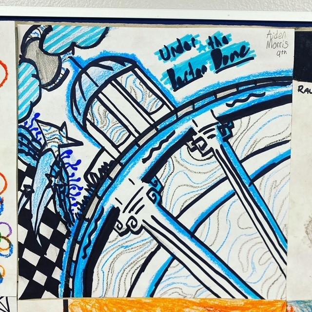 Student Art Under the Barton Dome