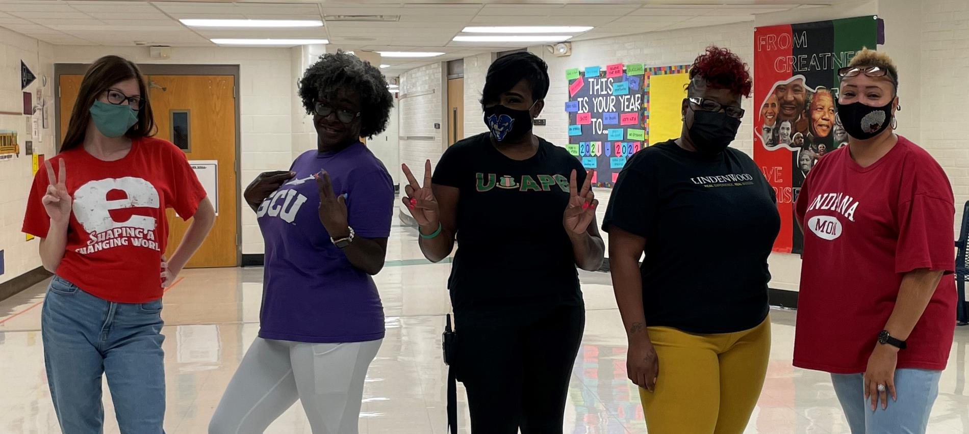 College Colors Spirit Day