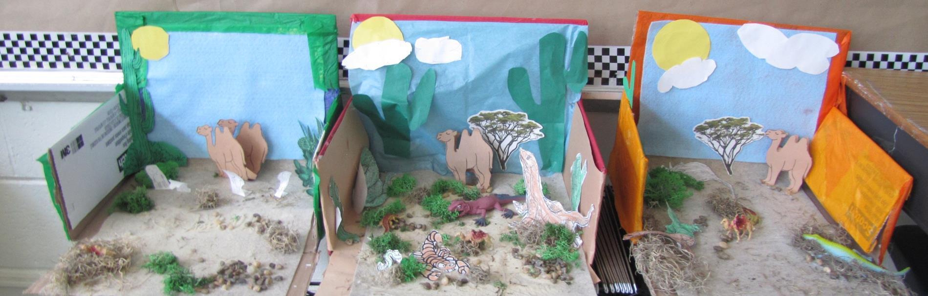 ESY Desert Diorama