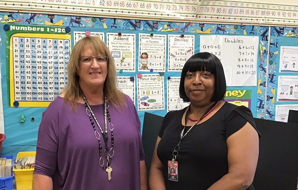 Mrs. Butler & Mrs. Doss